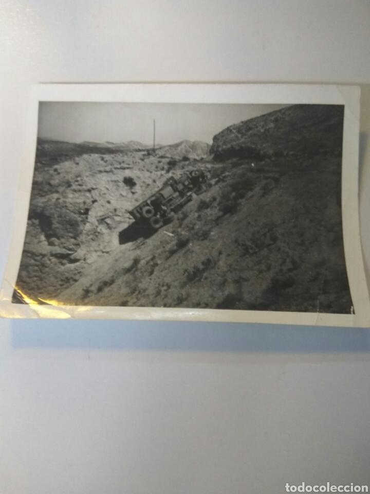 Fotografía antigua: FOTOS ANTIGUAS ALMERÍA ACCIDENTES VEHÍCULOS, CAÑARETE,CHUMBERAS.... - Foto 3 - 168501201