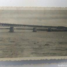 Fotografía antigua: ALMERÍA FOTO ANTIGUA SALIDA RIO ANDARAX PUENTE LOS MOLINOS FOTO APOITA AÑOS 40 ORIGINAL. Lote 168502381