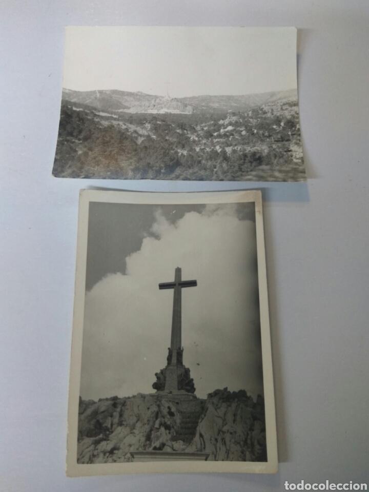 FOTOS ANTIGUAS VALLE DE LOS CAIDOS AÑOS 60 ORIGINALES (Fotografía Antigua - Fotomecánica)