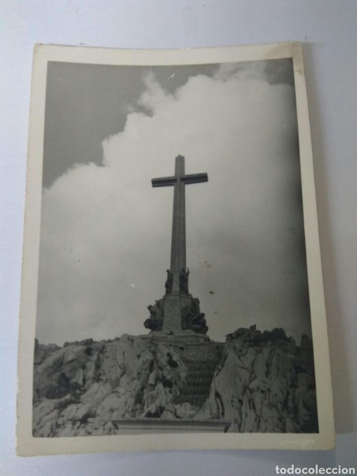 Fotografía antigua: FOTOS ANTIGUAS VALLE DE LOS CAIDOS AÑOS 60 ORIGINALES - Foto 2 - 168535561