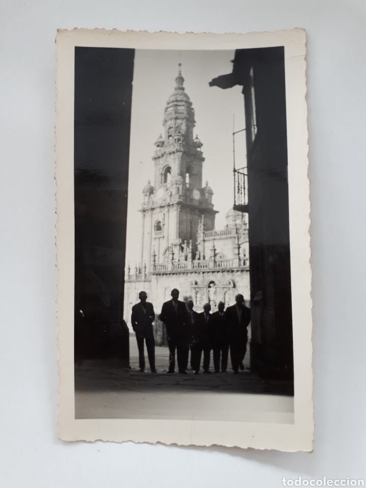 SANTIAGO DE COMPOSTELA. 19 ABRIL 1957 (Fotografía Antigua - Fotomecánica)