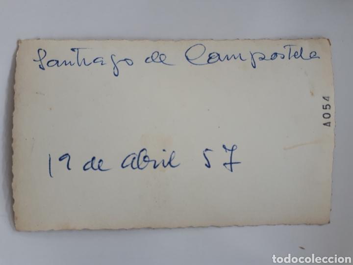 Fotografía antigua: SANTIAGO DE COMPOSTELA. 19 abril 1957 - Foto 2 - 168672192