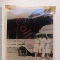 Fotografía antigua: FOTOGRAFÍA ANTIGUA ORIGINAL. CAMIÓN. BUS. CUBA? (10 X 7 CM). Lote 168680864