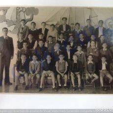 Fotografía antigua: FOTOGRAFÍA ANTIGUA. CURSO DE 1941-42 VIERA Y CLAVIJO. (11,5 CM X 7,5 CM). Lote 168793888