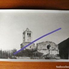Fotografia antica: ANTIGUA FOTOGRAFÍA DE CAMPRODÓN. GERONA. MONASTERIO. FOTO AÑO 1930.. Lote 168817224