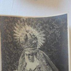Fotografía antigua: ANTIGUA FOTOGRAFIA.VIRGEN DE LOS DOLORES.LA RINCONADA SEVILLA AÑOS 40,50. Lote 169059220