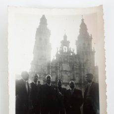 Fotografía antigua: SANTIAGO DE COMPOSTELA. 1957. Lote 169156545