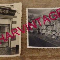 Fotografía antigua: BADAJOZ, AÑOS 50, LOTE DOS FOTOGRAFIAS DROGUERIA PEÑA, FOT. PEPE.. Lote 169202856