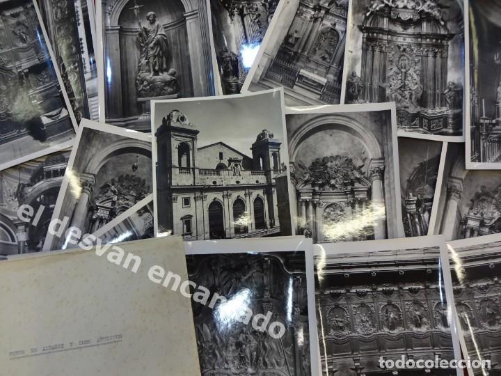 LERIDA. CATEDRAL NUEVA. ALTARES Y CORO. LOTE 24 FOTOS DE CALIDAD 18 X 12 CTMS . FOT: MAS. AÑOS 1950S (Fotografía Antigua - Fotomecánica)