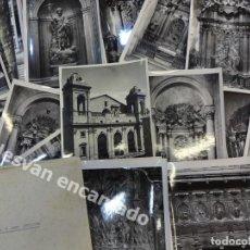 Fotografía antigua: LERIDA. CATEDRAL NUEVA. ALTARES Y CORO. LOTE 24 FOTOS DE CALIDAD 18 X 12 CTMS . FOT: MAS. AÑOS 1950S. Lote 169314220