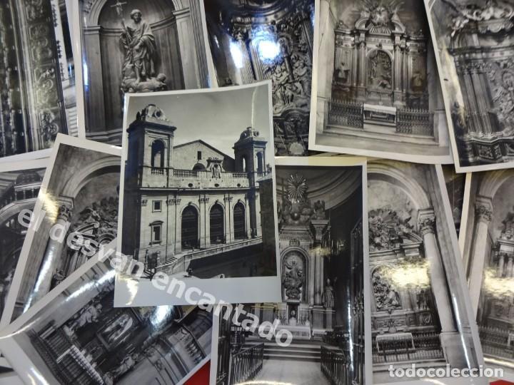 Fotografía antigua: LERIDA. Catedral Nueva. ALTARES Y CORO. Lote 24 fotos de calidad 18 x 12 ctms . Fot: MAS. Años 1950s - Foto 2 - 169314220