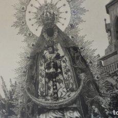 Fotografía antigua: ANTIGUA FOTOGRAFIA FORMATO POSTAL VIRGEN DE REGLA CHIPIONA AÑOS 50?. Lote 169387748