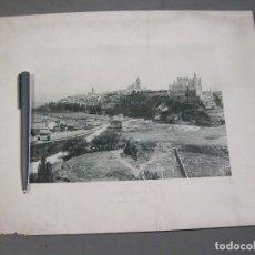 Fotografía antigua: VISTA GENERAL DE SEGOVIA. HAUSER Y MENET. . Lote 169453540