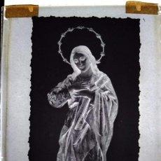 Fotografía antigua: BILBAO ANTIGUO CLICHÉ DE LA PURÍSIMA NEGATIVO EN CRISTAL. Lote 169457528