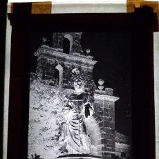 Fotografía antigua: NAVAS DE SAN ANTONIO SEGOVIA ANTIGUO CLICHÉ DE SAN ANTONIO NEGATIVO EN CRISTAL. Lote 169458044