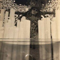Fotografía antigua: SEMANA SANTA SEVILLA. VIRGEN DEL PATROCINIO, HERMANDAD DEL CACHORRO. TRIANA.. Lote 169824694
