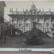 Fotografía antigua: ANTIGUA FOTOGRAFIA.VISTA DE SANTIAGO DE COMPOSTELA.1974. Lote 169932132