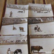 Fotografía antigua: LOTE 6 FOTO FOTOGRAFIA ALCALA DE GUADAIRA CORRIDA DE TOROS BENEFICIO DEL ROCIO . Lote 170084664