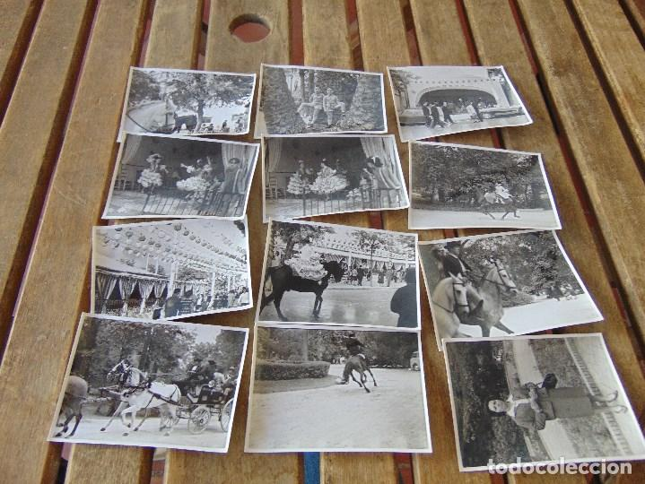LOTE 12 FOTO FOTOGRAFIAS FERIA SEVILLA AÑO 1965 (Fotografía Antigua - Fotomecánica)