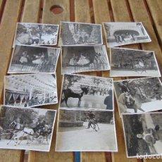 Fotografía antigua: LOTE 12 FOTO FOTOGRAFIAS FERIA SEVILLA AÑO 1965. Lote 261781190