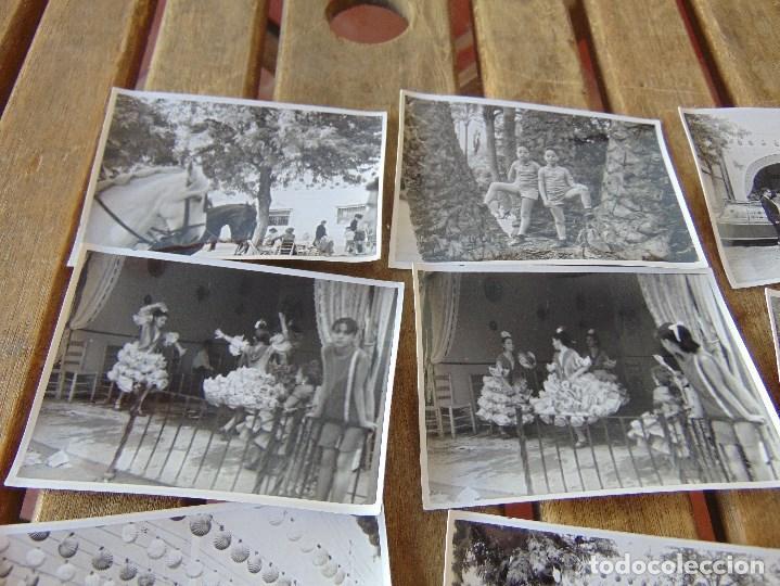 Fotografía antigua: LOTE 12 FOTO FOTOGRAFIAS FERIA SEVILLA AÑO 1965 - Foto 2 - 261781190