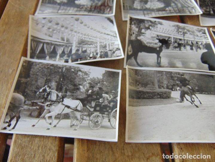 Fotografía antigua: LOTE 12 FOTO FOTOGRAFIAS FERIA SEVILLA AÑO 1965 - Foto 3 - 261781190
