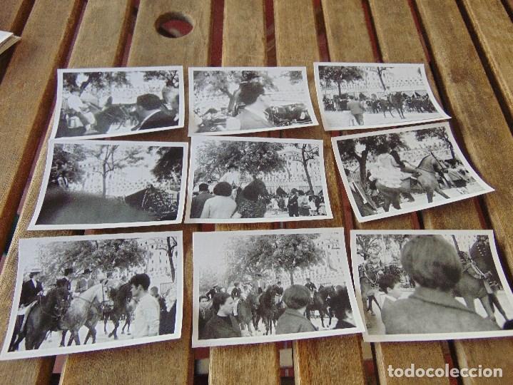 LOTE 12 FOTO FOTOGRAFIAS FERIA SEVILLA AÑO 1967 (Fotografía Antigua - Fotomecánica)