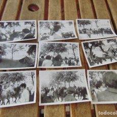 Fotografía antigua: LOTE 12 FOTO FOTOGRAFIAS FERIA SEVILLA AÑO 1967. Lote 261781240