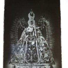 Fotografía antigua: CIUDAD REAL VIRGEN DEL PRADO PATRONA ANTIGUO CLICHE NEGATIVO EN CRISTAL. Lote 170115037