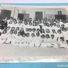 Fotografía antigua: COLEGIO MARIA INMACULADA - UPARA (VENEZUELA) - 1950 - 25,80 X 20,50 CMS.. Lote 170378964