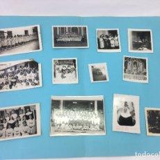 Fotografía antigua: LOTE DE 12 FOTOS DEL COLEGIO MARIA INMACULADA - UPARA (VENEZUELA) - AÑOS 40 / 50. Lote 170380068