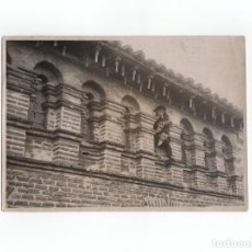 Fotografía antigua: MUNIESA.(ARAGÓN).- ALERO DE CASA RENACENTISTA. 12 X 17 CM. FOTO J. MORA. ZARAGOZA.. Lote 170981803
