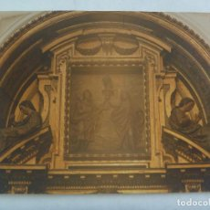 Fotografía antigua: GRAN FOTO DEL RETABLO DE LA INMACULADA, CONVENTO DE SANTA CLARA. SEVILLA ... 13 X 18 CM. Lote 171217708