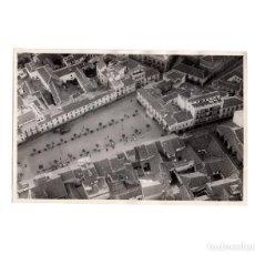 Fotografía antigua: RUEDA.(VALLADOLID).- FOTOGRAFÍA AÉREA 1933.- MEDIDAS. 11,5 X 17 CM. Lote 171357284
