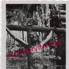 Fotografía antigua: SEMANA SANTA SEVILLA, ANTIGUA FOTOGRAFIA CRISTO DE LA EXPIRACION, EL CACHORRO, 60X90MM. Lote 171450284