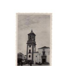 Fotografía antigua: ALGECIRAS.(CÁDIZ).- PLAZA DE LA CONSTITUCIÓN. 1933.- 11 X 7 CM. Lote 171666735