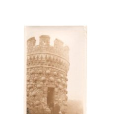 Fotografía antigua: MADRID. MANZANARES. CASTILLO. 1934 .- 11 X 7 CM. Lote 171667098