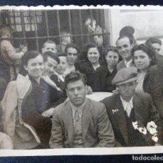 Fotografía antigua: CTC - CAUDETE AÑO 1947 - ANTIGUA FOTOGRAFIA ESTUDIO FOTOGRAFICO MOLINA - AÑOS 40 - VINTAGE. Lote 171743689