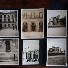Fotografía antigua: MADRID LOTE DE 10 ANTIGUAS FOTOGRAFIAS 1925 - 1934. Lote 171773938
