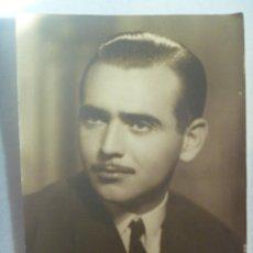 Fotografía antigua: BONITO RETRATO DE SEÑOR CON CARA DE CLARK GABLE. DE FOTO SERVA, SEVILLA .......... 13 X 18 CM. Lote 171907378