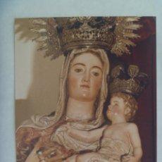 Fotografía antigua: FOTO DE LA VIRGEN DEL ROSARIO DE GASPAR DEL AGUILA. CONSEJO GENERAL COFRADIAS DE SEVILLA.. 12 X 17. Lote 171977740