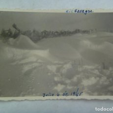 Fotografía antigua: FOTO DEL RIO GÁLLEGOS HELADO . JULIO DE 1945. Lote 172048322