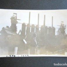 Fotografía antigua: AÑO 1931. SAGUNTO, VALENCIA. ANTIGUA FOTOGRAFÍA FÁBRICA. . Lote 172640920