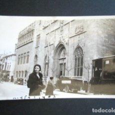 Fotografía antigua: AÑO 1931. VALENCIA. ANTIGUA FOTOGRAFÍA DE LA LONJA. . Lote 172641002
