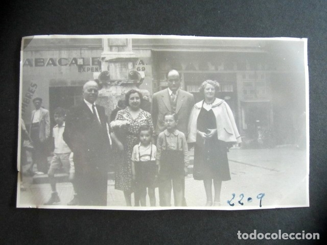 AÑO 1950. BARCELONA. ANTIGUA FOTOGRAFÍA. ALREDEDOR RONDA SAN ANTONIO. (Fotografía Antigua - Fotomecánica)