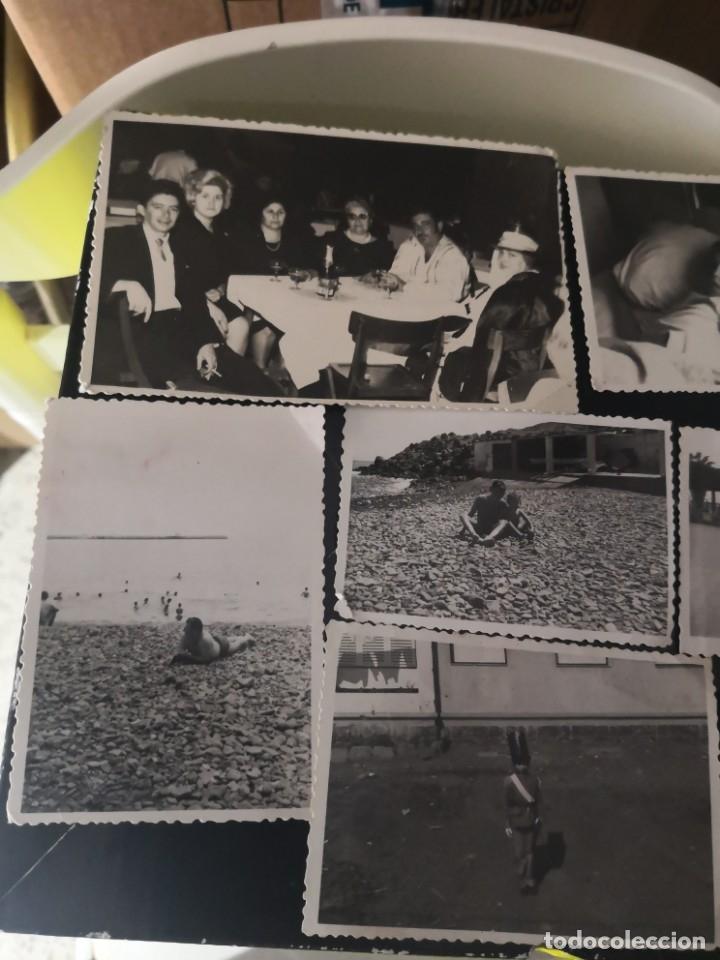 Fotografía antigua: 10 fotografías troqueladas años 60/70 algún lugar de Tenerife - Foto 2 - 172888718