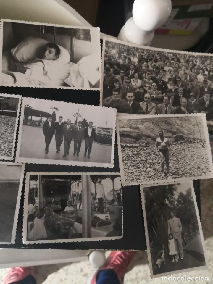 Fotografía antigua: 10 fotografías troqueladas años 60/70 algún lugar de Tenerife - Foto 3 - 172888718