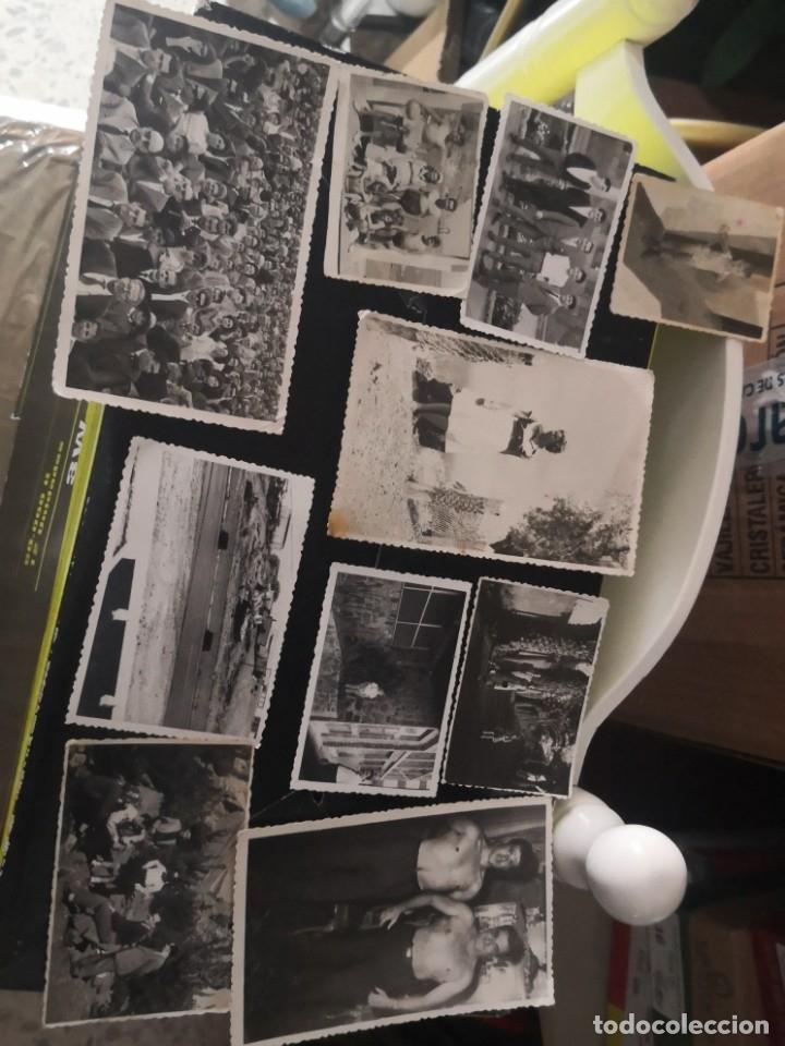 10 FOTOGRAFÍAS TROQUELADAS AÑOS 60/70 ALGÚN LUGAR DE TENERIFE (Fotografía Antigua - Fotomecánica)