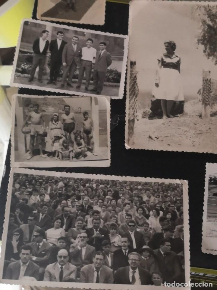 Fotografía antigua: 10 fotografías troqueladas años 60/70 algún lugar de Tenerife - Foto 2 - 172888935
