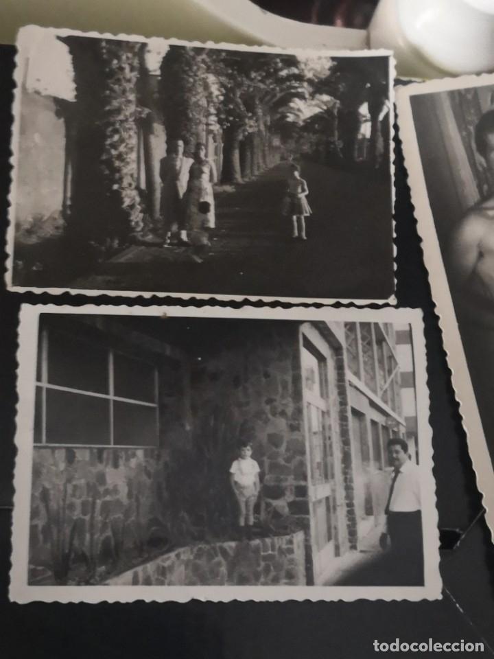 Fotografía antigua: 10 fotografías troqueladas años 60/70 algún lugar de Tenerife - Foto 4 - 172888935